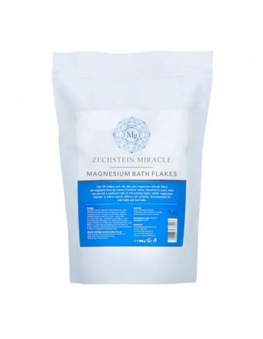 Natural Zechstein Magnesium Bath Flakes 1kg Magnesium