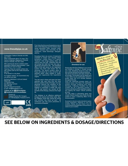Cisca Easy Salt Pipe Bronchial Health