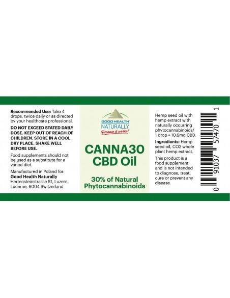 CANNA30 CBD oil 30% Home