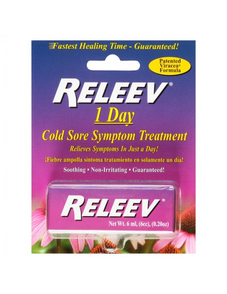 Releev™ 1 Day Cold Sore Treatment Skin Care