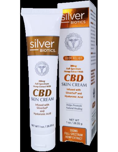 SilverBiotics® CBD Skin Cream 1oz 20ppm Home