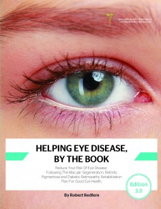Health Book - Helping Eye Disease, By The Book Health Books