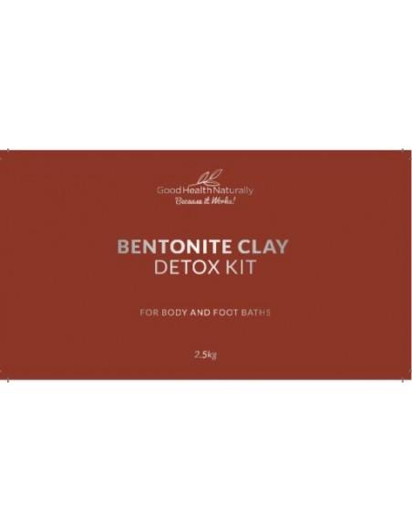 Bentonite Clay Bath Mercury Detox Kit – 2.5kg Home