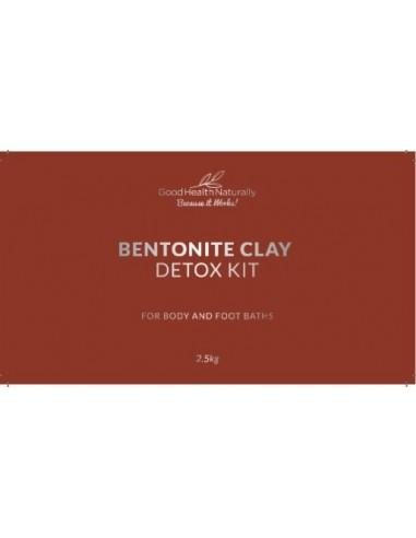 Bentonite Clay Bath Toxin Detox Kit – 2.5kg Home