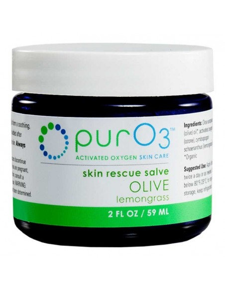 PurO3 Ozonated Organic Olive Oil Lemongrass Skin Care