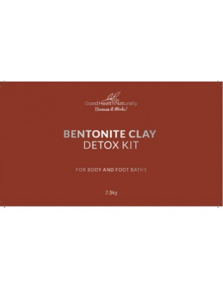 Bentonite Clay Bath Enviro Detox Kit – 2.5kg Home