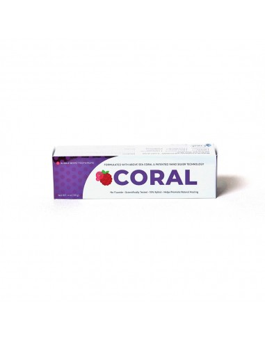 Coral NanoSilver Bubble Berry Toothpaste 4oz Home