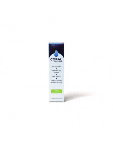 Coral NanoSilver Mint Toothpaste 1oz Home