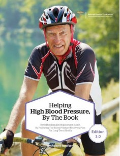 Health Book - Helping High Blood Pressure, By The Book Health Books