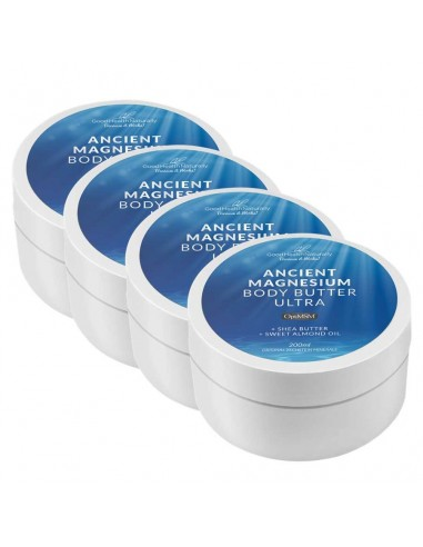 Ancient Magnesium Body Butter Ultra 200ml - BUY 3 GET 1 FREE Home