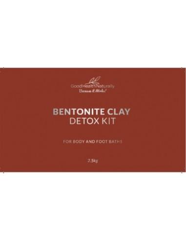 Bentonite Clay Bath Natural Detox Kit - Buy 3 Get 1 FREE Home