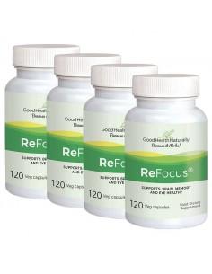 ReFocus® Vinpocetine - Buy 3 Get 1 FREE Home