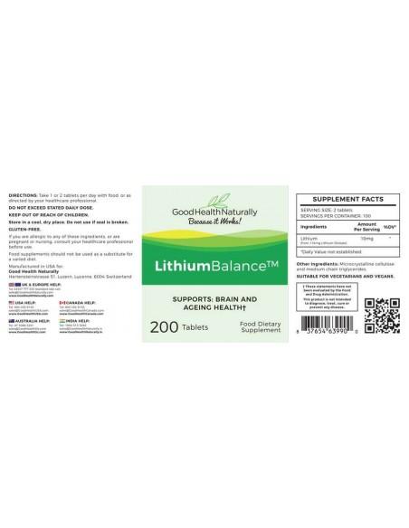 Lithium Balance Mental Health