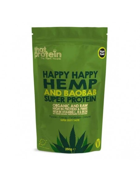 That Protein Powder – Happy Happy Hemp and Baobab 250gm Home