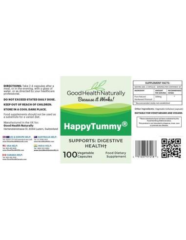 Happy Tummy™ Charcoal Capsules Digestive Health
