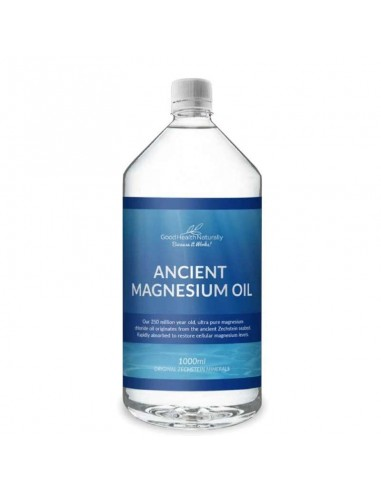 Ancient Magnesium Natural Magnesium Oil from Zechstein – 1 litre - Buy 3 Get 1 Free Magnesium