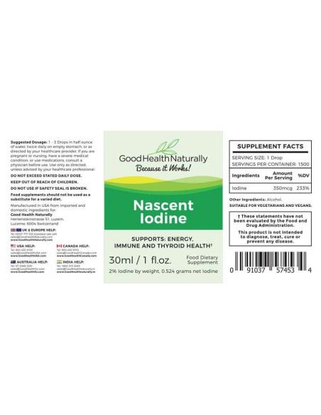 Nascent Iodine Immunity