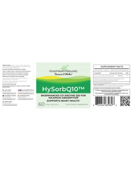 HySorbQ10™ - Buy 3 Get 1 FREE Home