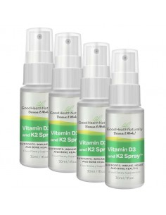 Vitamin D3 and K2 Sublingual Spray™ - Buy 3 Get 1 FREE Home