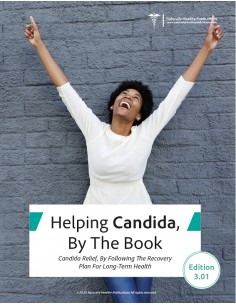 Health Book - Helping Candida, By The Book Health Books