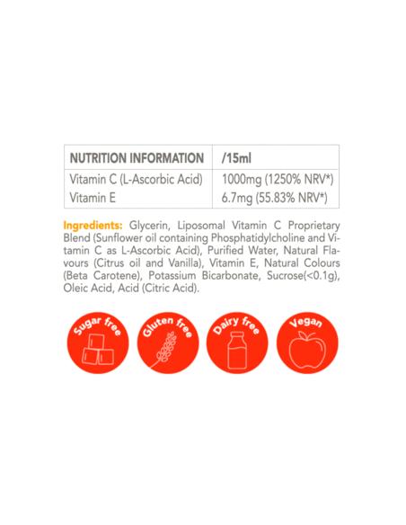 Vitamin C Zooki – Liposomal Vitamin C – Individual Sachet Home