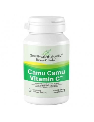 Vitamin C Camu Camu 500mg Home