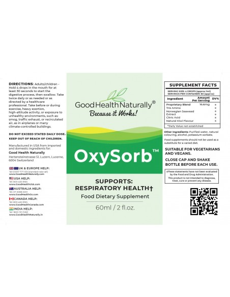 OxySorb™ Sport and Exercise Health