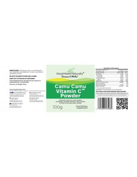 Vitamin C Powder Camu Camu Home