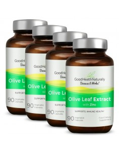 Olive Leaf with Zinc - Buy 3 Get 1 FREE Home