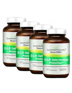 D.I.P. Daily Immune Protection™ 90 Caps - Buy 3 Get 1 FREE Home