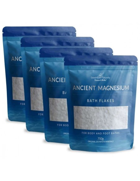 Ancient Magnesium Flakes 750g - Buy 3 Get 1 FREE Home