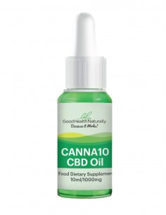 CANNA10 CBD oil 10% Home