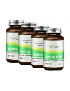 Active Life™ 180 capsules - Buy 3 Get 1 FREE Pack Discounts
