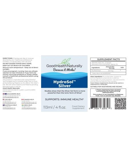 Hydrosol™ Silver 113ml goodhealthrewards