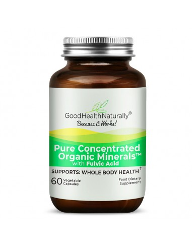 Pure Concentrated Organic Minerals™ Capsules A-Z Product List