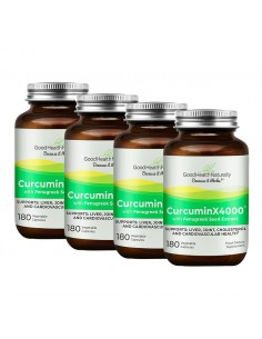 CurcuminX4000™ with Fenugreek Capsules - Buy 3 Get 1 FREE Home