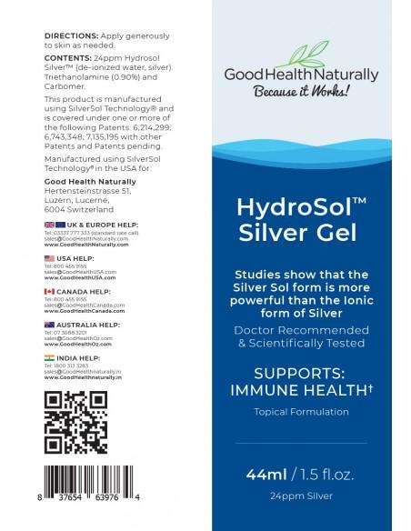 Hydrosol™ Silver Gel Silver