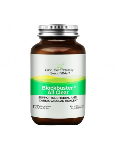 Blockbuster AllClear® 120 Delayed Release Capsules Heart Health