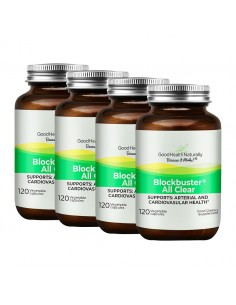 Blockbuster AllClear® 120 Delayed Release Capsules - Buy 3 Get 1 FREE Home