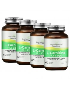 L-Carnitine Plus CoQ10 - Buy 3 Get 1 FREE goodhealthrewards