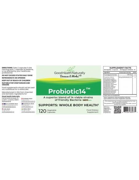 Probiotic14™- Buy 3 Get 1 FREE Home