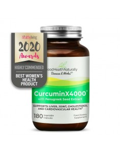 CurcuminX4000™ with Fenugreek Capsules Inflammation