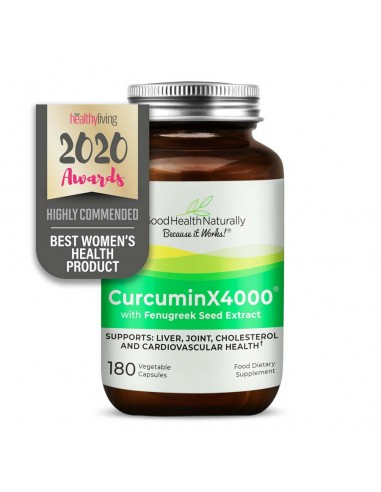 CurcuminX4000™ with Fenugreek Capsules New Products or New Formulas