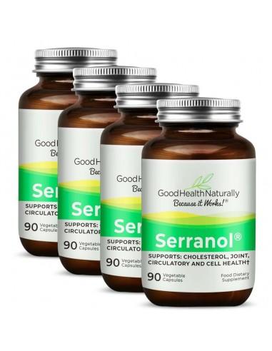 Serranol® 90 Capsules - Buy 3 Get 1 FREE Home
