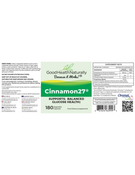 Cinnamon27 Blood Sugar