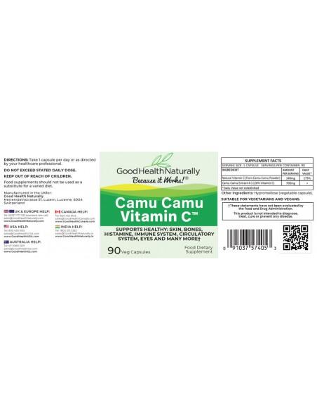 Vitamin C - Camu Camu 700mg Home