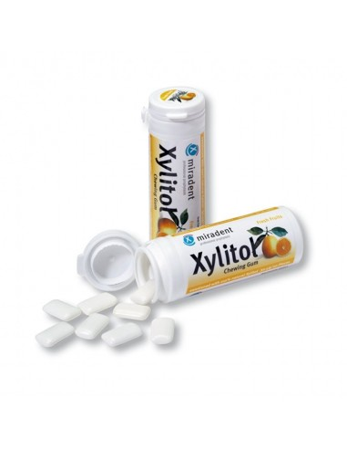Xylitol Chewing Gum Fresh Fruits - 1 Tube Home