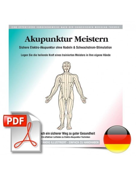 HealthPoint Mastering Acupuncture eBook (German Version) - Akupunktur Meistern Health Books