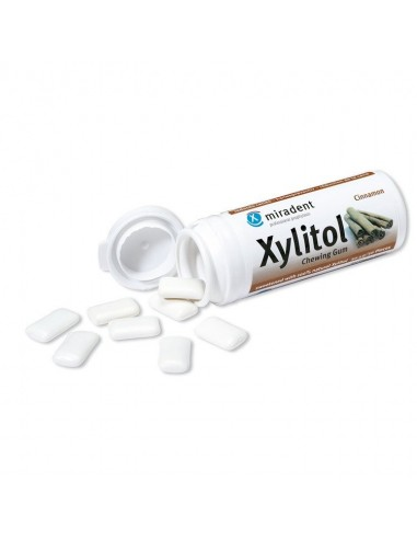 Xylitol Chewing Gum Cinnamon - 1 Tube Home